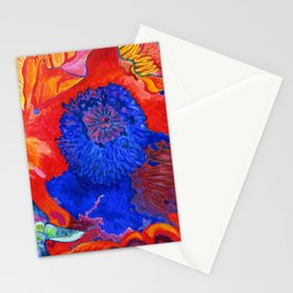 Japanese Poppy No.9 Stationery Cards
