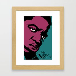 Notorious Framed Art Print