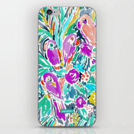 PARROT PARTY iPhone Skin