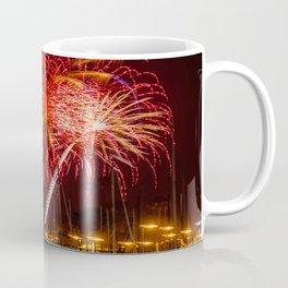 Marina Del Rey Fourth of July Fireworks 1 Coffee Mug