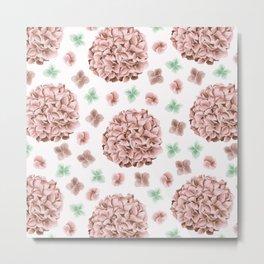 Rosette Bouquet Metal Print