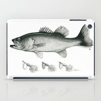 bass iPad Cases featuring Bass by Newmanart7 -- JT and Nancy Newman, Art a
