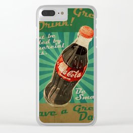 Fallout - Poster Nuka Cola Clear iPhone Case