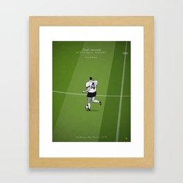 Franz Beckenbauer Framed Art Print