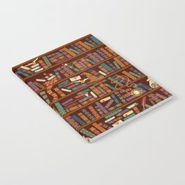 Bookshelf Notebook