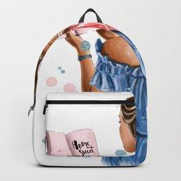 Girl home Backpack