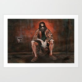 "The Dude, ""You pissed on my rug!"" Art Print"