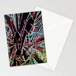 Palm Tree Abstract Stationery Cards