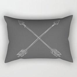Crossed Arrows Rectangular Pillow