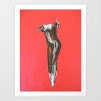 erotic Art Prints featuring Erotic by Monika Iatrou
