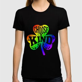Choose Kind Autism Bullying Prevention - St Paddys Day design T-shirt