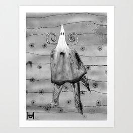 Fhost Art Print