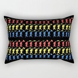 Run Pikmin Run Rectangular Pillow