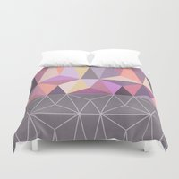nordic Duvet Covers featuring Nordic Combination 31 Z by Mareike Böhmer