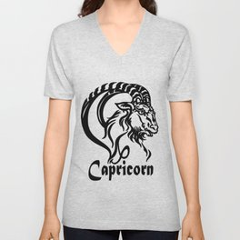 Zodiac for Capricorn Unisex V-Neck