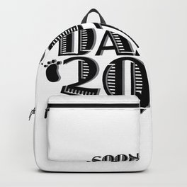 Soon To Be Daddy 2018 New Dad Gift Father Day Backpack