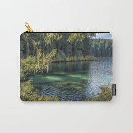 Emerald Tones of Clear Lake Carry-All Pouch