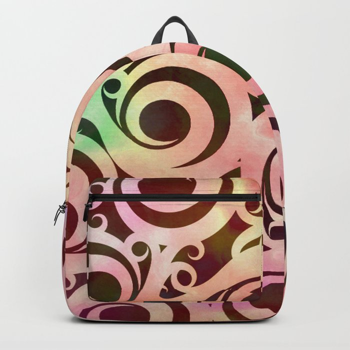Softly Colored Swirls Backpack