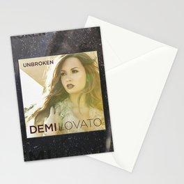 Demilovato Unbroken Stationery Cards