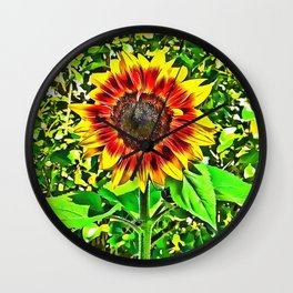 To Be A Sunflower Wall Clock