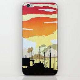 Penzance Harbour iPhone Skin