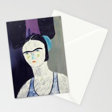 swimmer #2 Stationery Cards