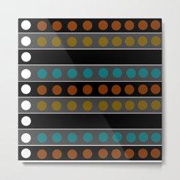 Mic Check 2 - Abstract Metal Print
