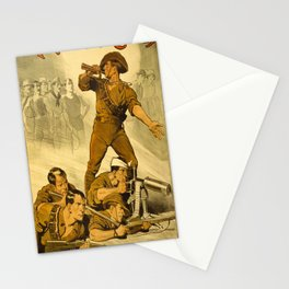 The Trumpet Calls Stationery Cards