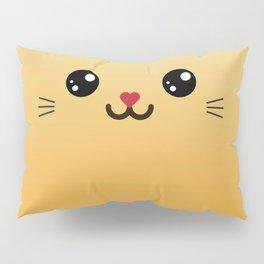 Children imaginary furry friend GINO THE CAT (Chibi Palz cute companion) Pillow Sham