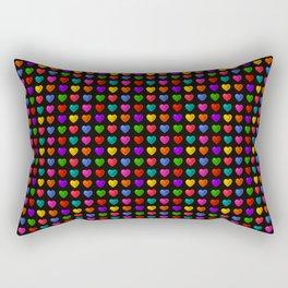Sweet heart Pattern Rectangular Pillow