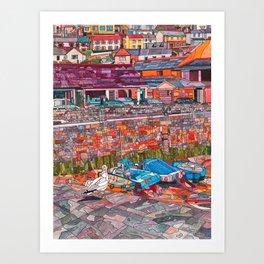 Harbour Bright Art Print