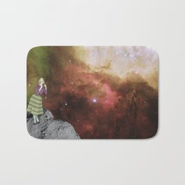 Lady in Space III Bath Mat