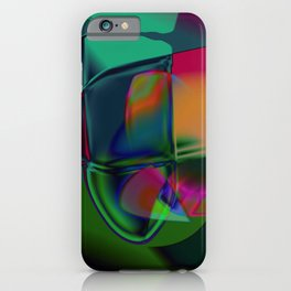 Intervention Abstract iPhone Case