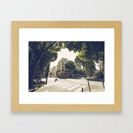 Le 8e Arrondissement Framed Art Print