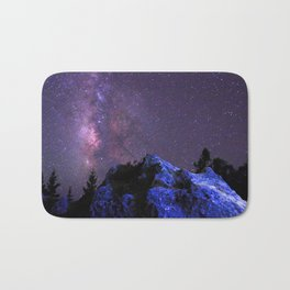 Moon Rocks Bath Mat