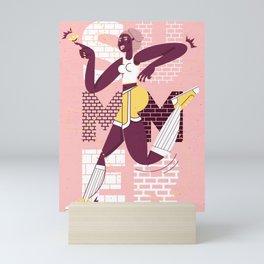 Summer Running Mini Art Print
