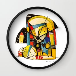 Mother and Child - Home Wall Clock