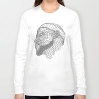 lebron Long Sleeve T-shirts featuring Basketball King by NINE PROJECT