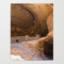 Ancient Pueblo - Gila Cliff Dwellings Poster