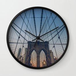 Brooklyn Mornings Wall Clock