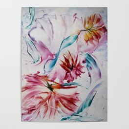 Asters Poster