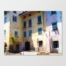 Egna, South Tryol, Italy Canvas Print