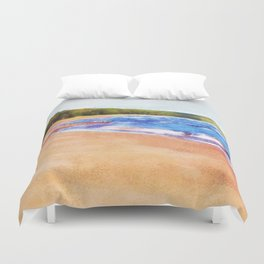Colors of Water Duvet Cover