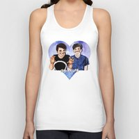 danisnotonfire Tank Tops featuring DAN AND PHIL by Share_Shop