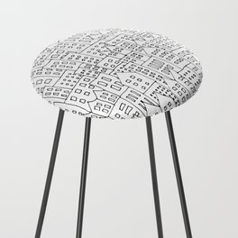 Coit City Pattern 1 Counter Stool