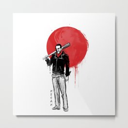 Negan of the Rising Sun Metal Print