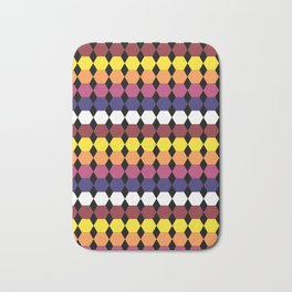 Colorbars Bath Mat