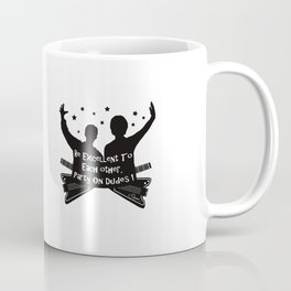 BILL AND TED'S EXCELLENT ADVENTURE Collectible Beth Bacon Design no.4 Coffee Mug