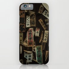 Kyoto Name Stickers 1 iPhone 6s Slim Case