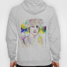 Flower Crown  Hoody